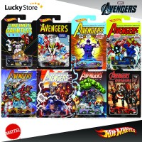 Hot Wheels Marvel Avengers Infinity War set 8pcs Original Mattel