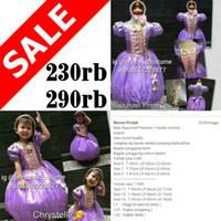 New Rapunzel Premium - Dress Princess Anak