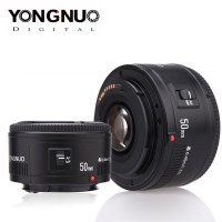 Yongnuo YN 50mm Lensa Fix 50 mm F1.8 Lens For Canon AF-S Auto Focus