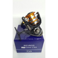 Reel DAIWA REVROS LT 4000-CXH drag 12kg 4bb pancing 4000 light tough