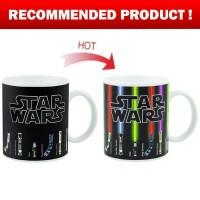 Gelas Kopi Unik Magic Mug Star Wars Lightsaber