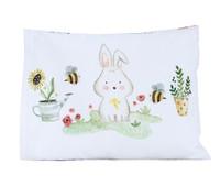 Mooi Sarung Bantal Anak Infant Garden Bunny Kelinci