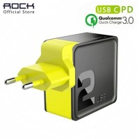 ROCK Sugar PD Fast Charging & QC 3.0 FCP Type C for iPhone Samsung