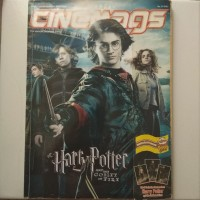 Majalah CINEMAGS - HARRY POTTER AND THE GOBLET OF FIRE