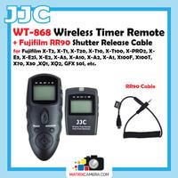 JJC WT-868 Wireless Timer Remote + Fujifilm RR90 Shutter Release Cable