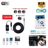 WIFI Endoscope Camera HD 720P 5M Snake USB Iphone Android