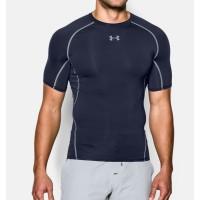 Under Armour UA HeatGear Original Compression Shirt Baselayer Navy