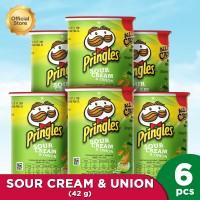 Pringles Sour Cream & Onion 42gr Happy Package (6 Pcs)