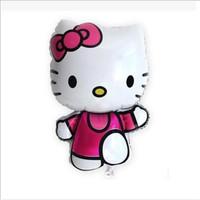 Balon Foil Pesta Party Hello Kitty Lucu cantik Balon Souvenir Ultah