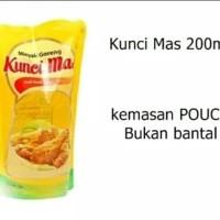 Minyak Goreng Kunci Mas Pouch 200ML