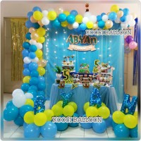 Dekorasi ulang tahun dekor balon tangerang jakarta depok paket ultah