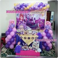 Dekorasi paket balon ulang tahun/dessert table tangerang depok jakarta