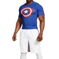 Under Armour Original Captain America Compression Shirt Baselayer
