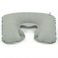 Bantal Leher Inflatable Travele Pillow Air - JJ2821 Gray