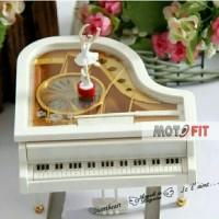 original Music Box Piano automatic Kotak Musik piano Balerina otomatis