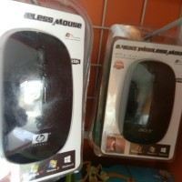 Mouse Wireless HP acer gepeng