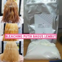 bleaching powder bagus n murah isi 600gram warna putih ke rambut