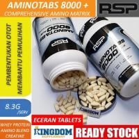 RSP AminoTabs Amino Tabs 8000+ Plus Amino Acid Suplemen Fitnes Eceran