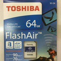 Toshiba FlashAir 64GB Wireless SDHC W 04 / Toshiba Flash Air 64GB W 04