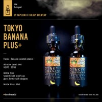 Tokyo Banana Plus+ Caramel and Peanut By Vapezoo x Trilogy Brewery