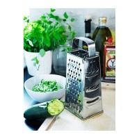 [A752] Parutan Keju 4 Sisi Stainless Steel Vertical Cheese Grater