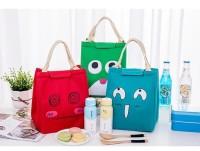 512 Lunch bag cooler bag /tas bekal anak sekolah /tas bekal karakter