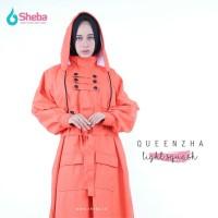 Jas Hujan Muslimah Sheba Queenzha Fletching Model Gamis