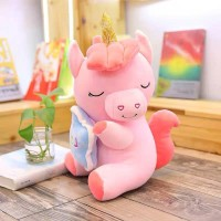 Boneka Unicorn Import Model Right Side uk 50cm