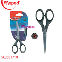 MAPED Scissors 13cm Gunting Maped Pointed Scissors tanpa Pelindung