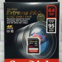 Sandisk SDHC Extreme Pro 64GB 95MB/s U3 4K (SDSDXPA-064GB)