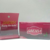 PAKET Sinensa Beauty Slim Herbal + Green Tea [Sinensa Kapsul + Tea]