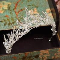 Mahkota Rambut Pesta Wedding Modern l Aksesoris Crown Pengantin MRW019