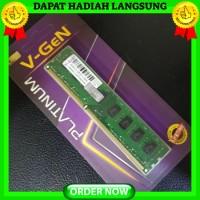 DDR3 8GB PC-12800 - 1600Mhz RAM PC - Komputer V-GeN Longdimm PLATINUM
