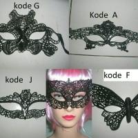Kostum Aksesoris Pesta lace mask topeng renda topeng Pesta