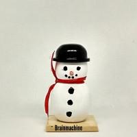 kokeshi doll snowman