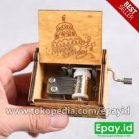 Kotak Musik Kayu HBD Hadiah Ulang Tahun Music Box Happy Birthday