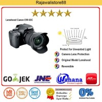 Rajawali Lenshood EW-63C - For Canon EF-S 18-55 IS STM