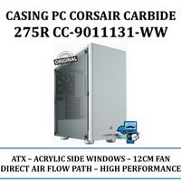 Casing PC Corsair Carbide Series 275R Acrylic Mid-Tower - White