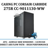 Casing PC Corsair Carbide Series 275R Acrylic Mid-Tower - Black