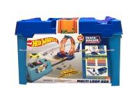 Hot Wheels Track Builder Multi Loop Box Mainan Mobil Hot Heel Hotwill