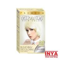 Semir rambut MIRANDA (30mlx2)+10ml Mc-6 BLEACHING/DECOLORING LIQUID