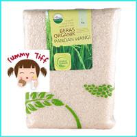 Lingkar Organik Beras Organic 1 Kg Pandan Wangi Putih/Merah/Hitam