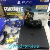 PS4 PS 4 SLIM 500GB BUNDLE FORTNITE EDITION
