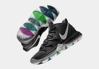 Nike Kyrie 5 Black Magic Size 40 Kualitas Premium