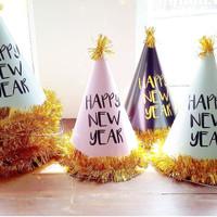 party new year hat / topi pesta tahun baru