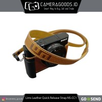 ( Camera Goods ) Lims Design Leather Quick Release Strap - NS-CC1