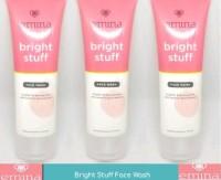 Emina Bright Stuff Face Wash 50ml ANTI POLUTAN Hilangkan kusam
