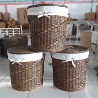 Laundry Basket Rotan