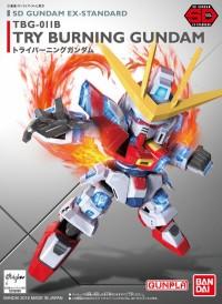 SDEX SD EX Try Burning Gundam