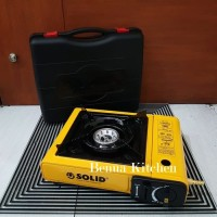Kompor Portable SOLID 2 Fungsi